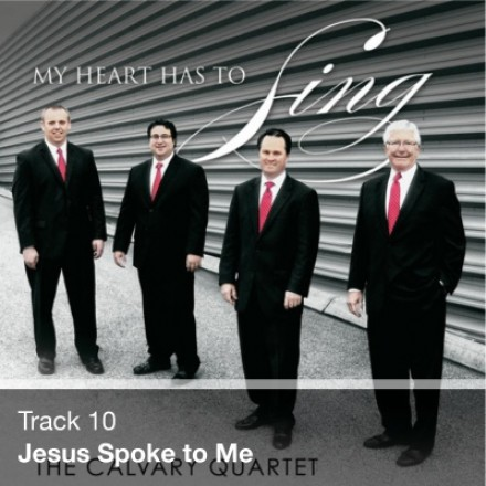 Track 10 - Jesus Spoke to Me (Download)