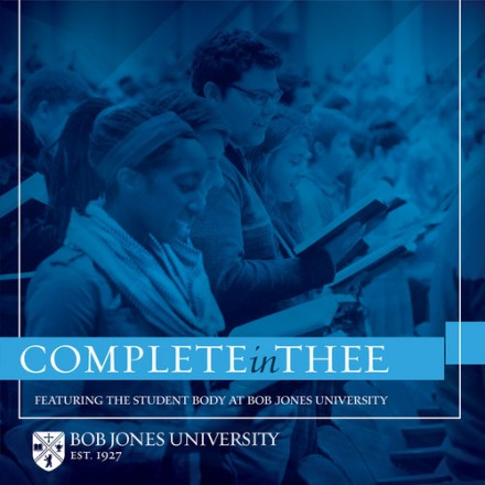 Complete In Thee (CD)